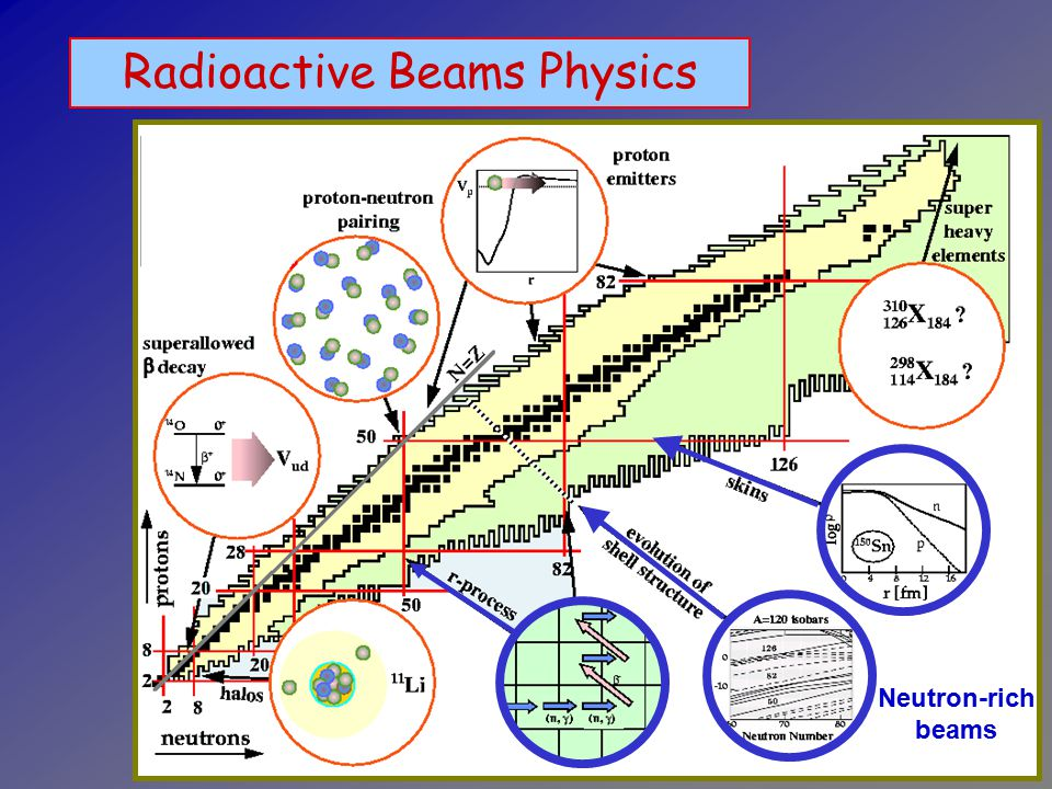 Radioactive Beams Physics Neutron-rich beams