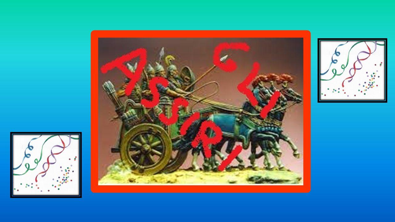 La religione Gli Assiri erano politeisti, cioè credevano in tante divinità.
