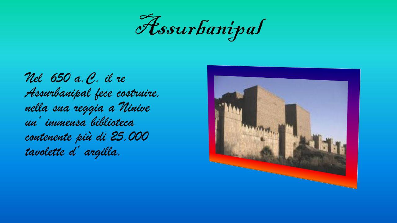 Assurbanipal Nel 650 a.C.
