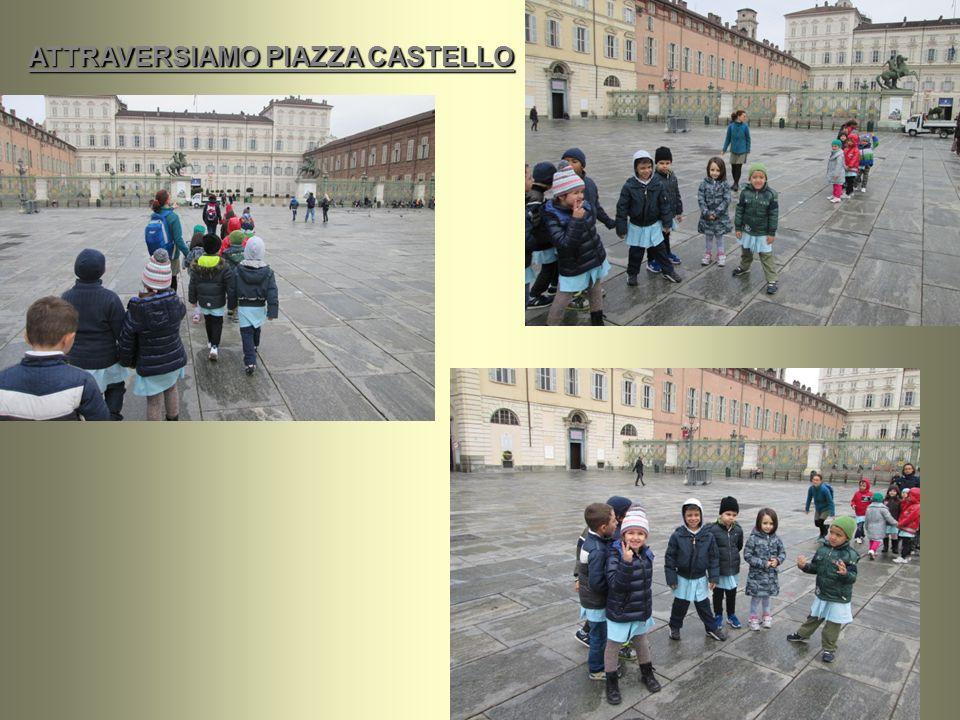 ATTRAVERSIAMO PIAZZA CASTELLO