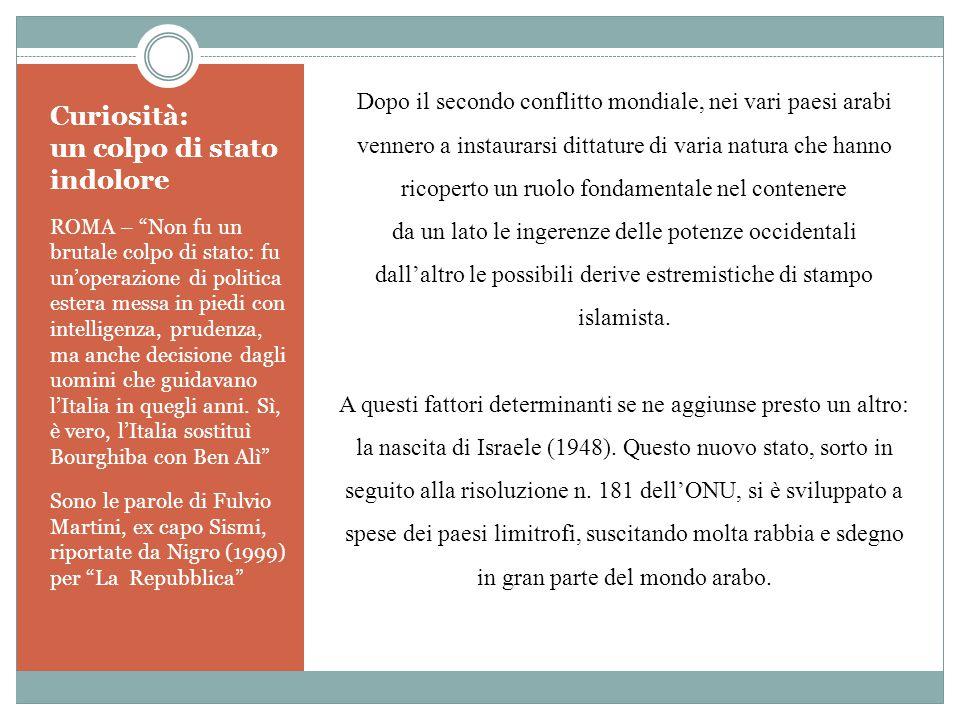 """Curiosità: un colpo di stato indolore ROMA – """"Non fu un brutale colpo di stato: fu un'operazione di politica estera messa in piedi con intelligenza, p"""