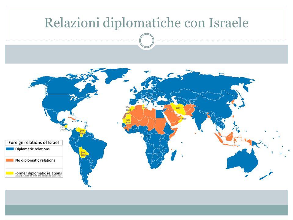 Relazioni diplomatiche con Israele