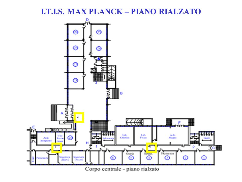 I.T.I.S. MAX PLANCK – PRIMO PIANO 6 5 4 7