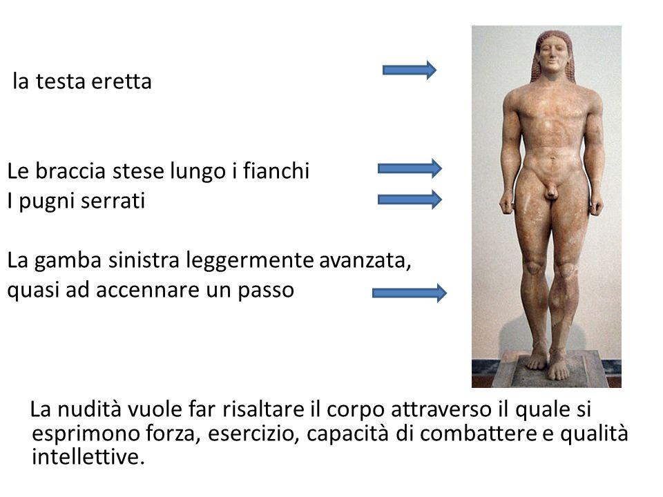 KOUROS DI MILO 550-540 a.C.