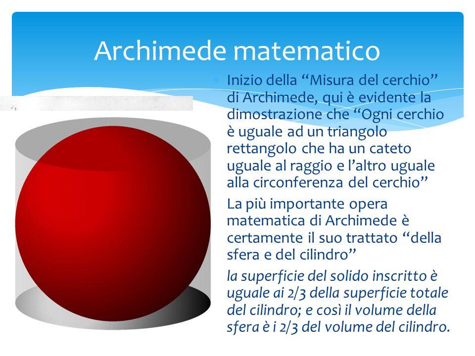 SS pirale oraria, una delle curve studiate con maggiore originalità da Archimede LL o sviluppo della spirale studiata da Archimede in un capitello ionico del Tempio di Portuno o della Fortuna Virile a Roma, costruito nel II secolo a.C.
