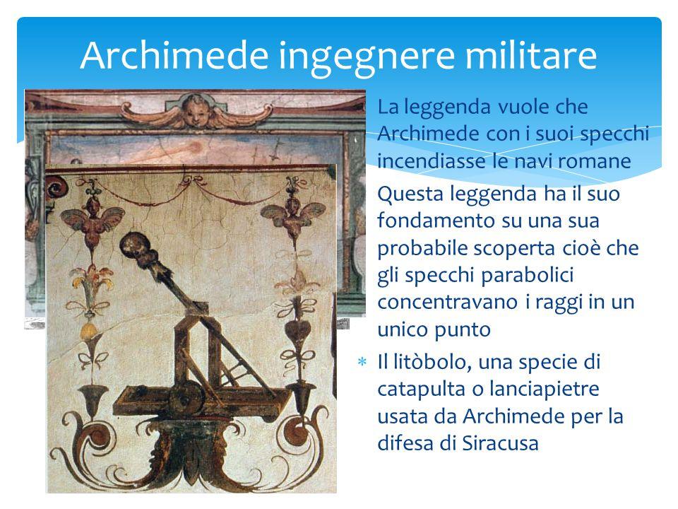 AA ltro strumento leggendario legato al nome di Archimede LL a mano di ferro la cui funzione dovrebbe essere quella di afferrare le navi dalla prua, alzarle e farle ricadere in acqua