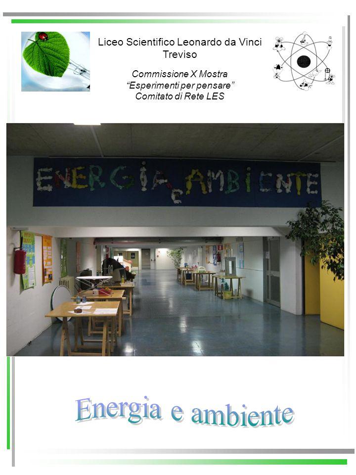 Concorso Liceo Scientifico Leonardo da Vinci Treviso Commissione X Mostra Esperimenti per pensare Comitato di Rete LES Treviso, 3 – 30 ottobre 2009 La Commissione composta da : DS Giuliano Biasiotto DS Marco Mantengoli Prof.