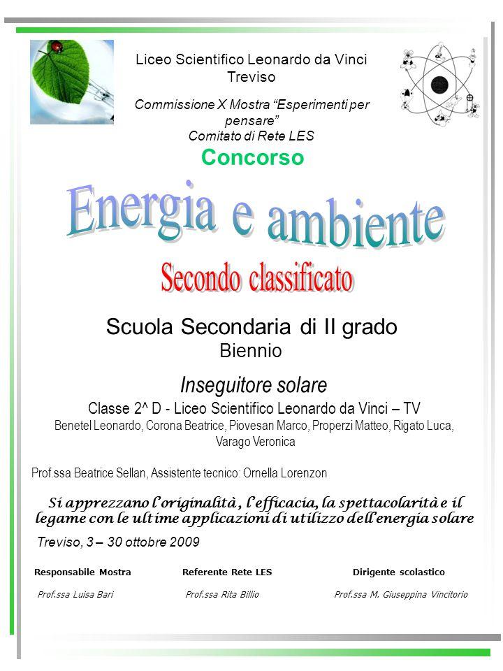 Responsabile Mostra Referente Rete LES Dirigente scolastico Prof.ssa Luisa Bari Prof.ssa Rita Billio Prof.ssa M. Giuseppina Vincitorio Concorso Liceo