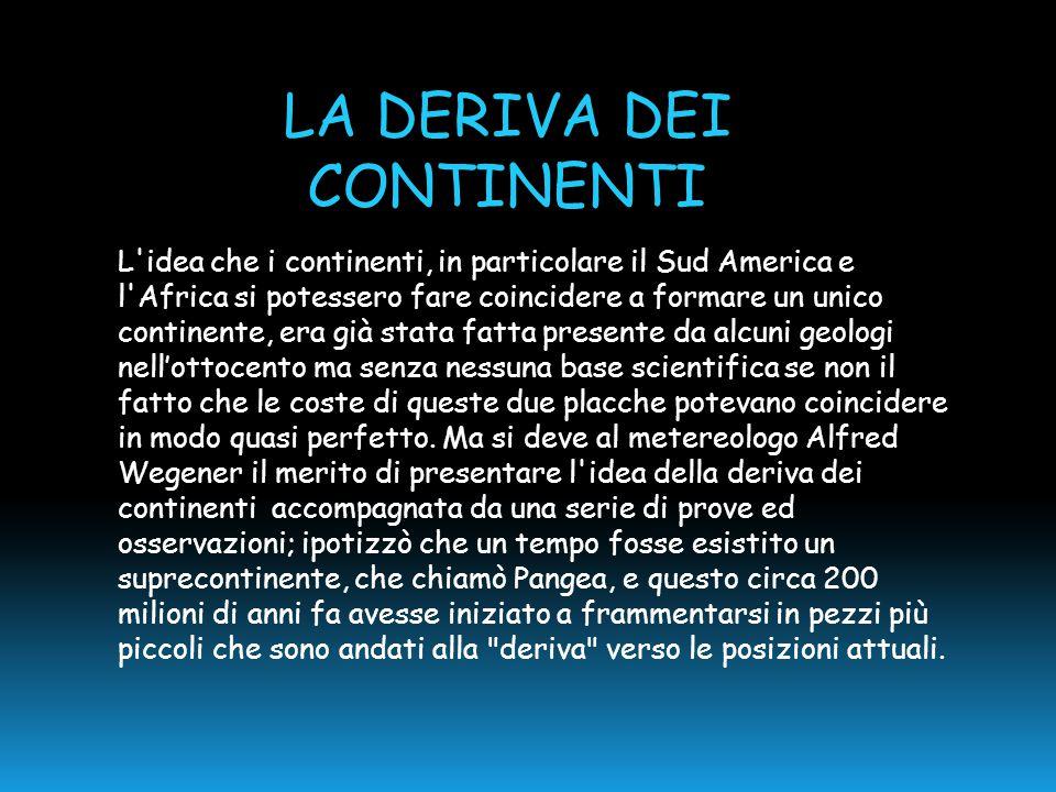 L'idea che i continenti, in particolare il Sud America e l'Africa si potessero fare coincidere a formare un unico continente, era già stata fatta pres