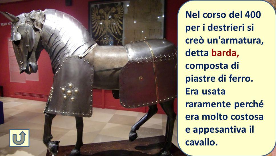 La Battaglia di San Romano fu prevalentemente uno scontro di cavalleria Destrieri rampanti Palafreno = cavallo da parata Destriero = cavallo da battag