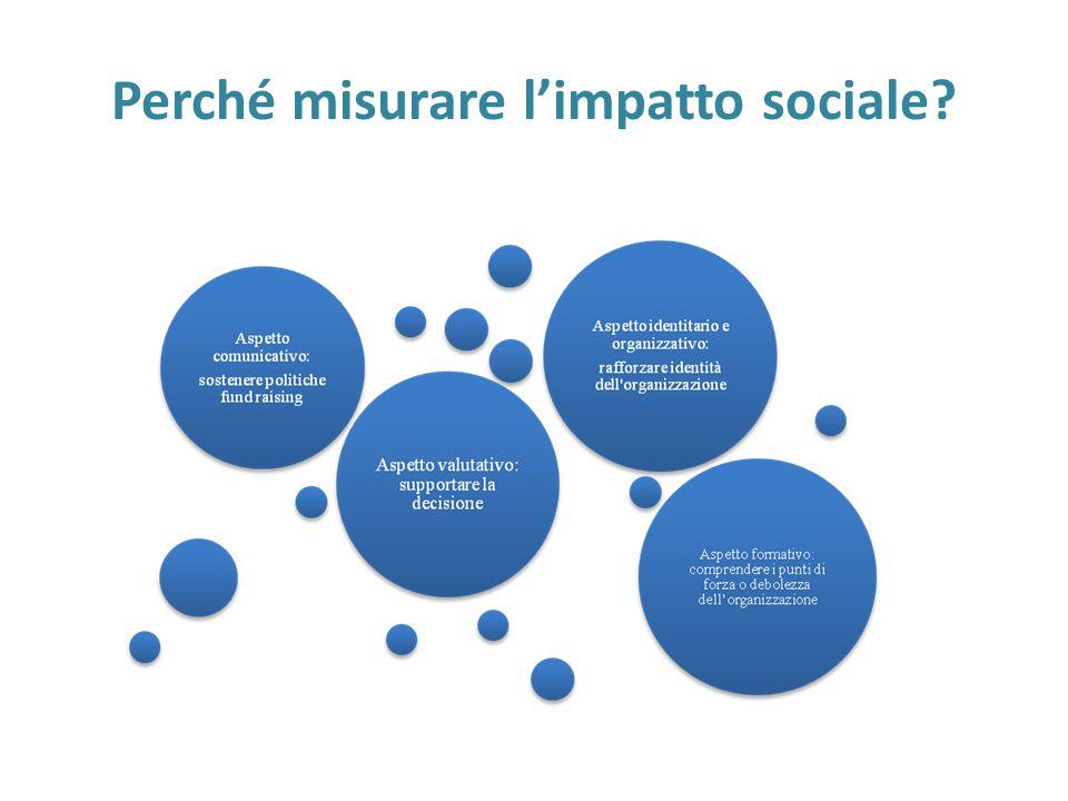 Perché misurare l'impatto sociale?