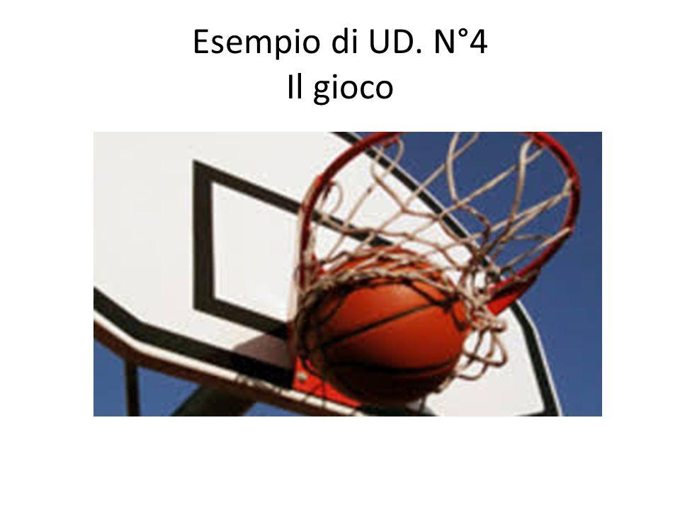Esempio di UD. N°4 Il gioco