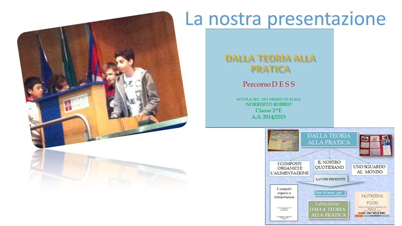 La nostra presentazione