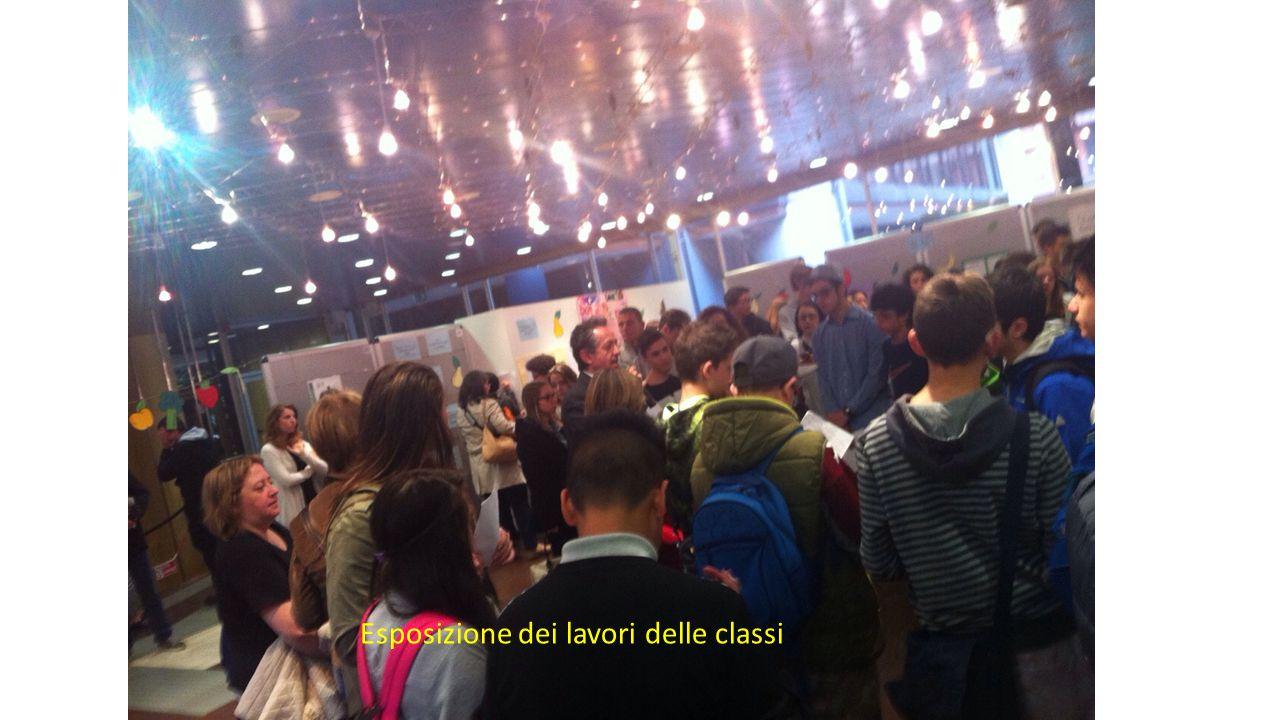 Esposizione dei lavori delle classi