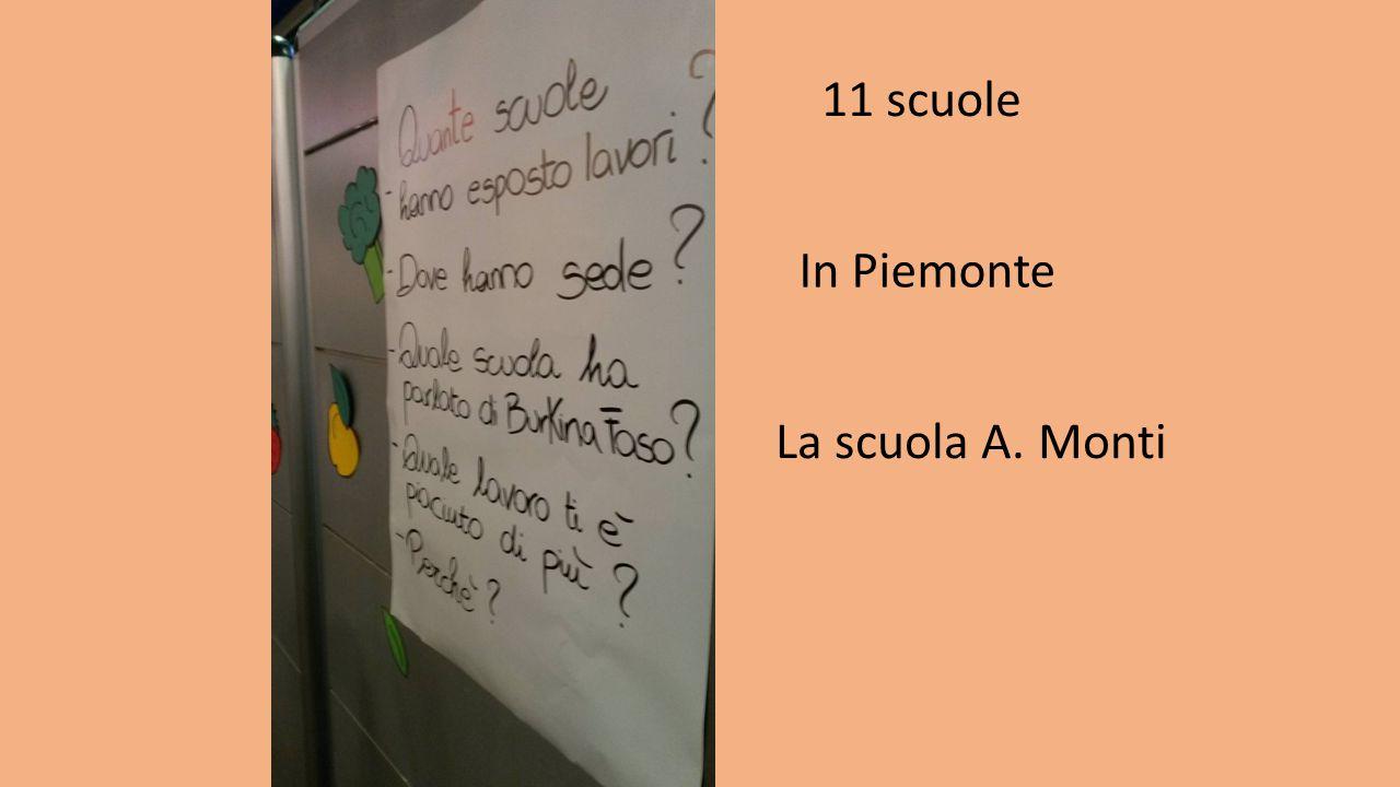 11 scuole In Piemonte La scuola A. Monti