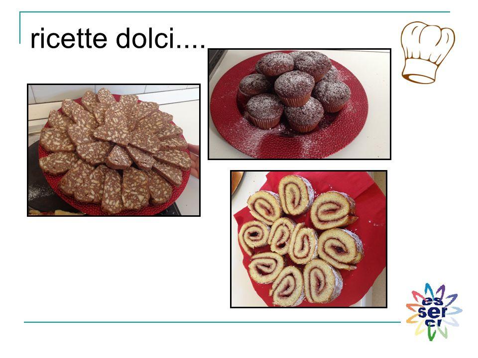 ricette dolci....