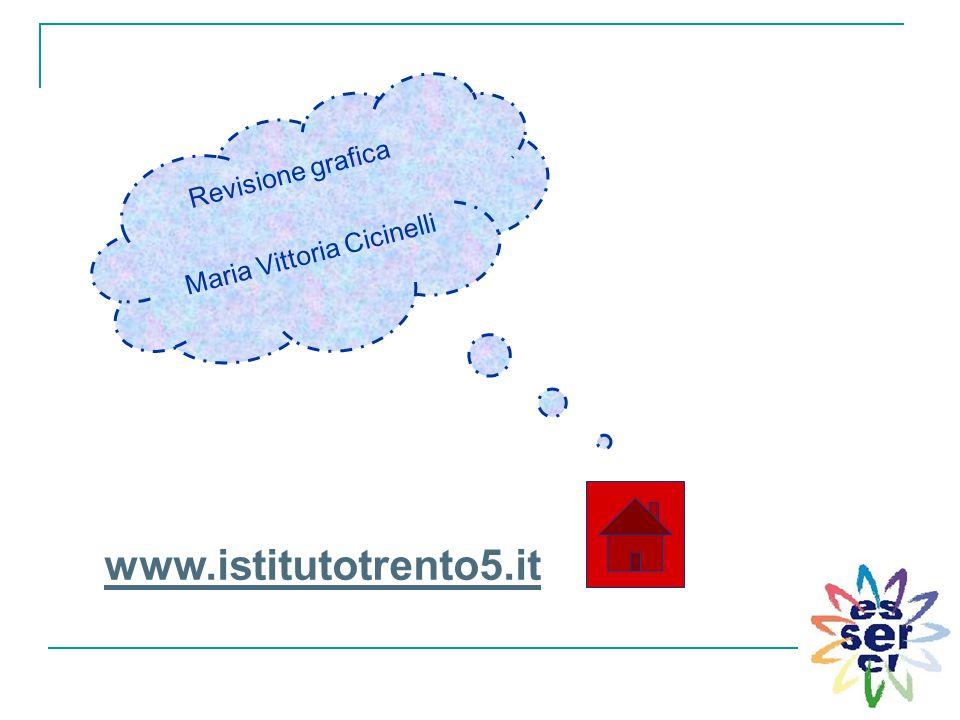 Revisione grafica Maria Vittoria Cicinelli www.istitutotrento5.it