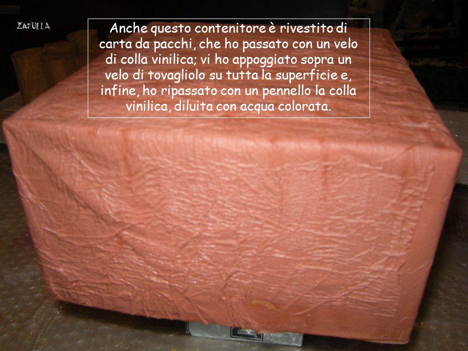 Questo è il materiale per il rivestimento esterno.