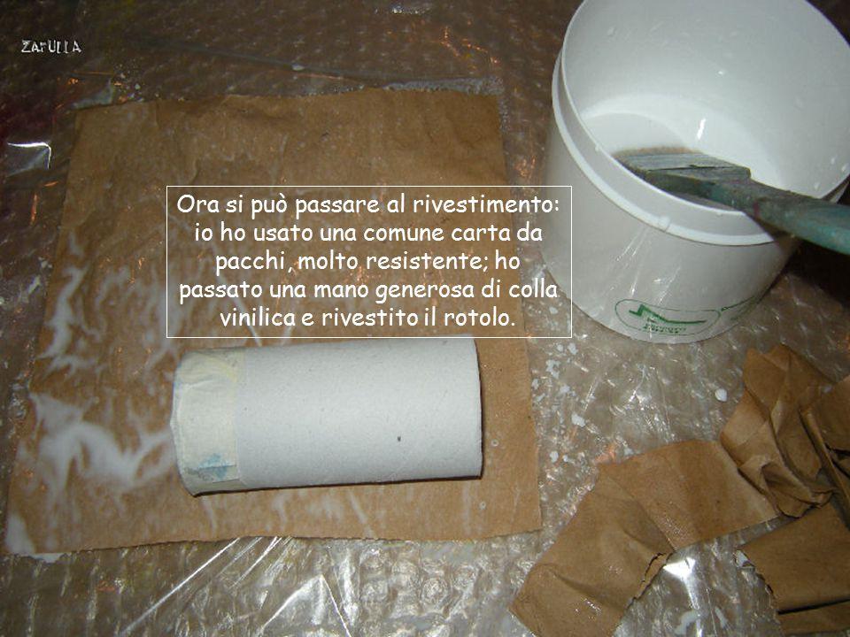 Ora tutti i cilindri hanno la loro base chiusa: questo permetterà di poterli togliere dal contenitore, singolarmente, usare quel che serve e riporre s