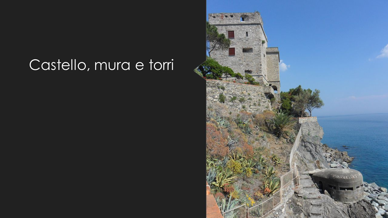 Castello, mura e torri