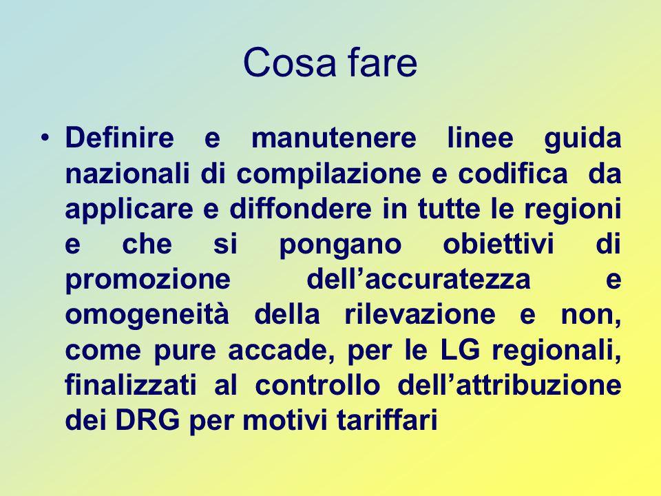 Il passaggio alla ICD 9 CM 2002 e a Grouper 19 La Campania ha adottato dal 1 gennaio 2006 le nuove classificazioni.