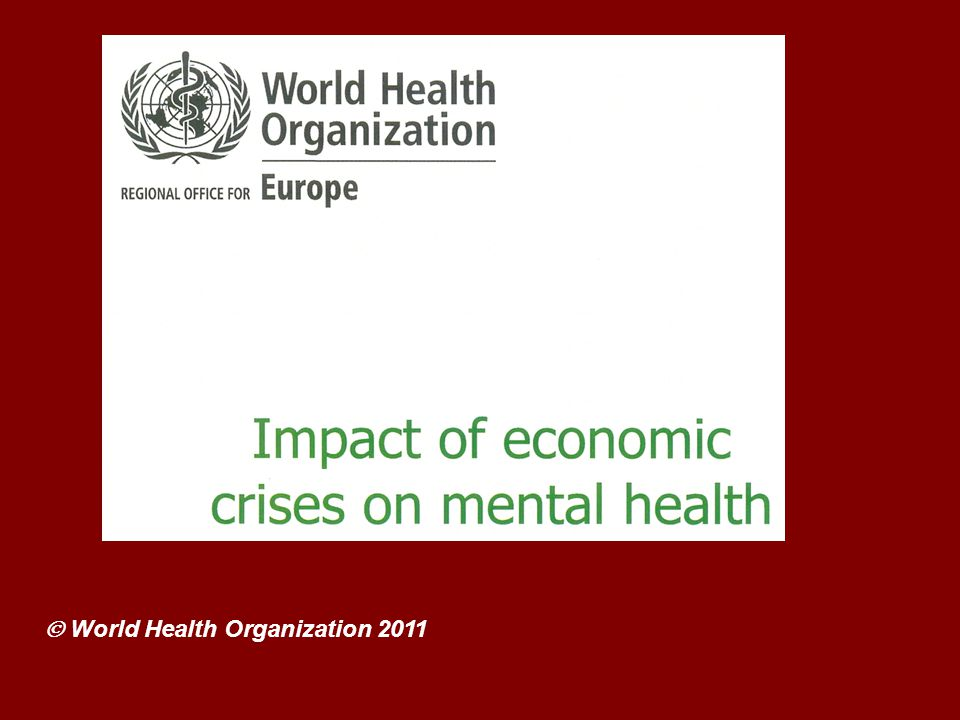  World Health Organization 2011