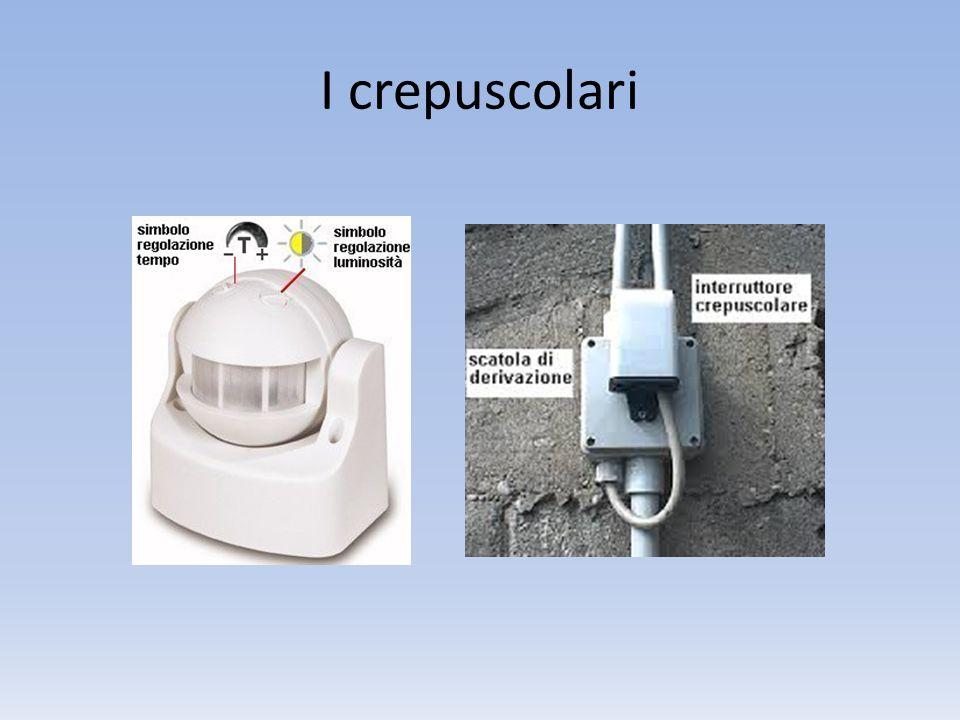 I crepuscolari sono degli interruttori capaci di percepire l'arrivo della sera, quindi di assenza di luce solare, e di attivarsi in maniera completamente autonoma.