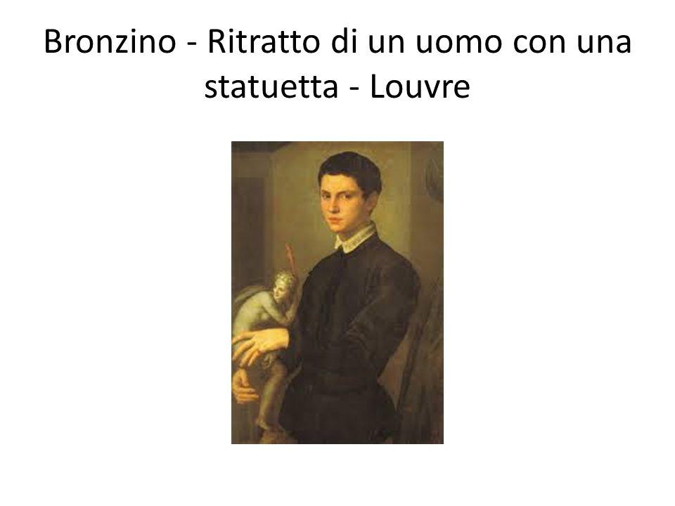 Bronzino - Ritratto di un uomo con una statuetta - Louvre