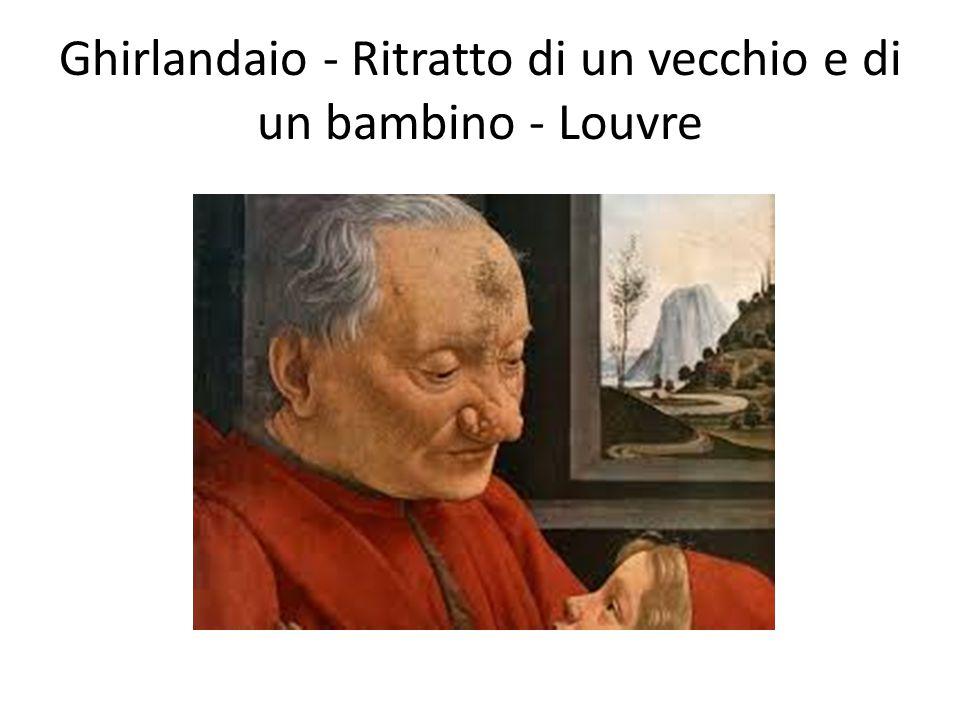 Ghirlandaio - Ritratto di un vecchio e di un bambino - Louvre
