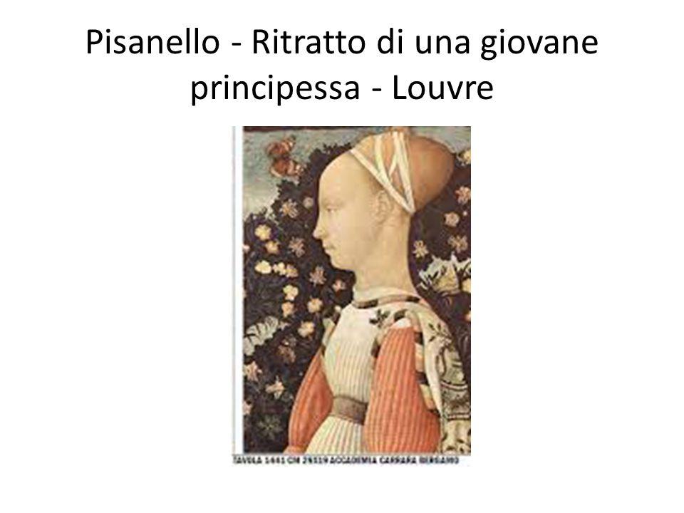 Pisanello - Ritratto di una giovane principessa - Louvre