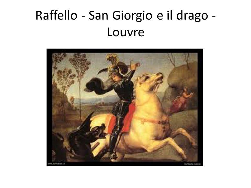 Raffello - San Giorgio e il drago - Louvre