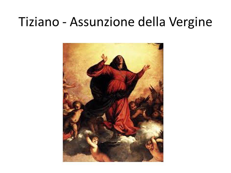 Tiziano - Assunzione della Vergine