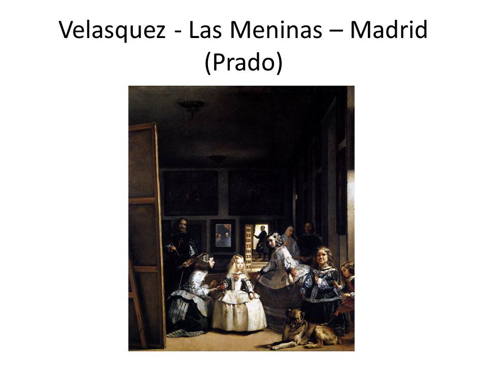 Velasquez - Las Meninas – Madrid (Prado)