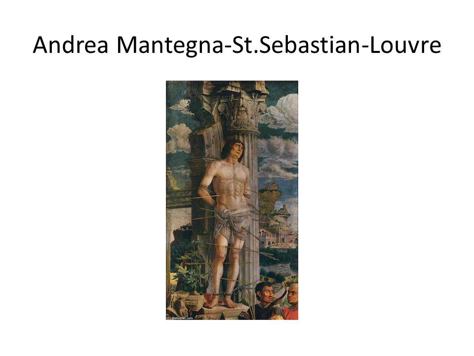 Andrea Mantegna-St.Sebastian-Louvre