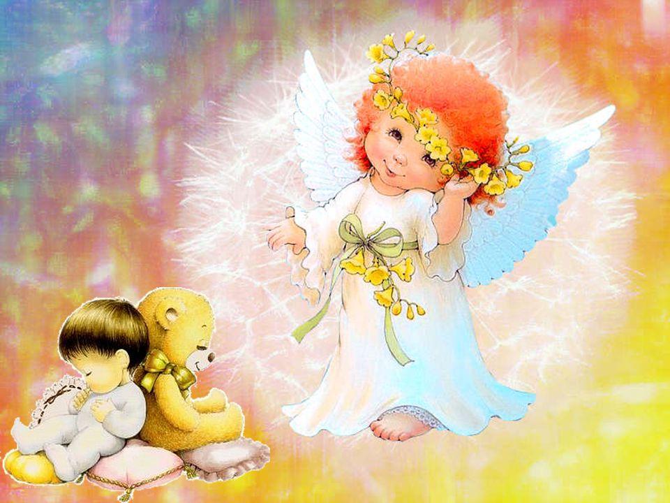 L'Angelo chiese alla piccola Aurora: cosa vuoi essere da grande? Felice rispose lei. E cos'è essere felice? Avere una famiglia che ti ama, giocare,sor
