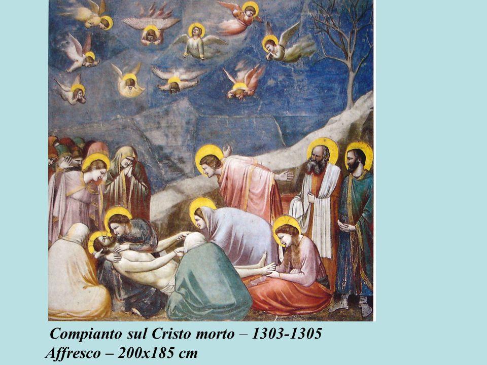 Compianto sul Cristo morto – 1303-1305 Affresco – 200x185 cm