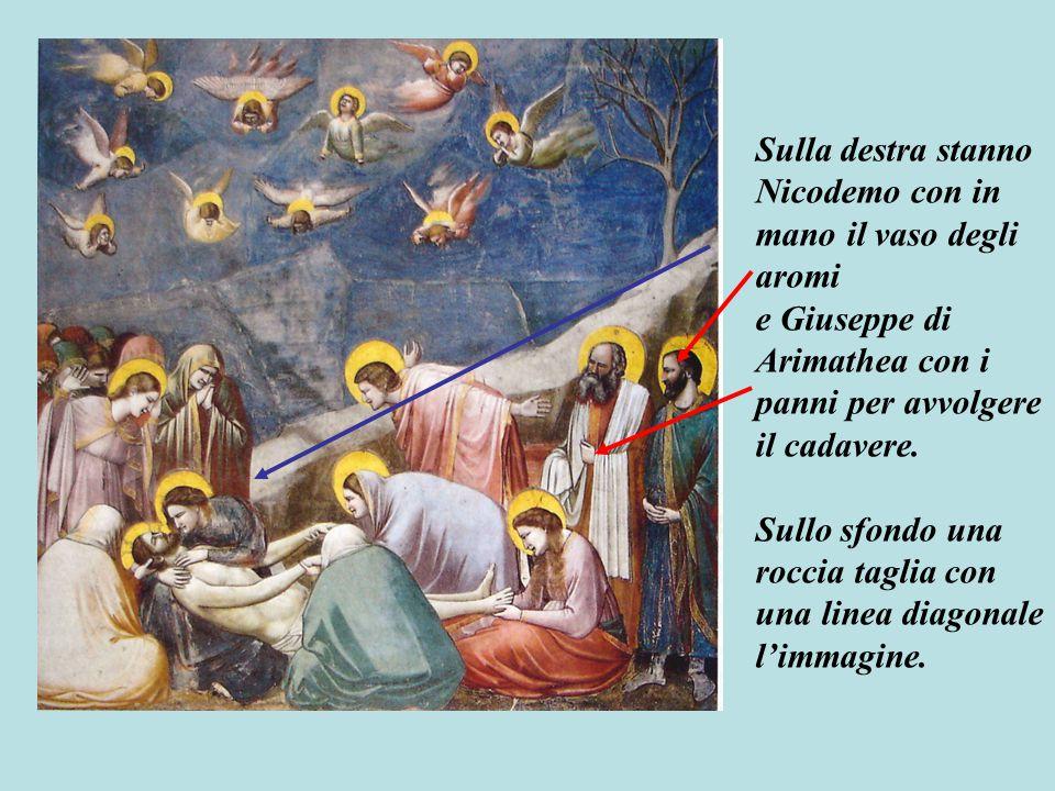 Tutto e tutti provano un dolore immenso per la morte di Gesù.