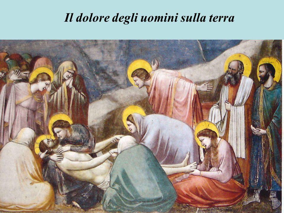 Giotto supera la concezione bizantina dell'immagine.