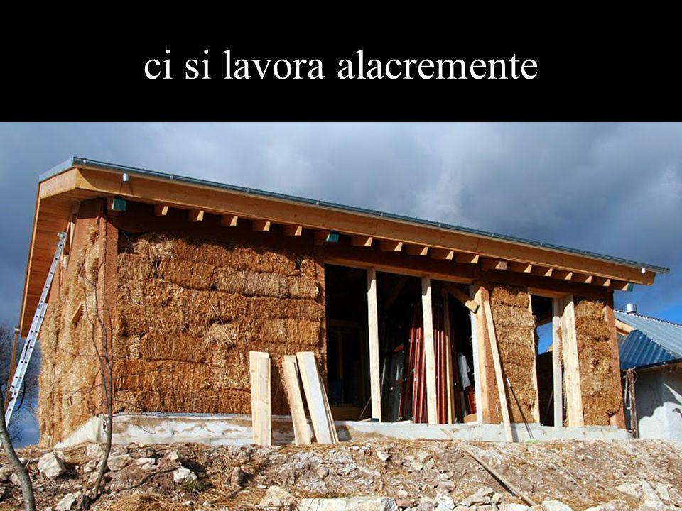 la prima ad essere inaugurata sarà la casa di Piero e famiglia