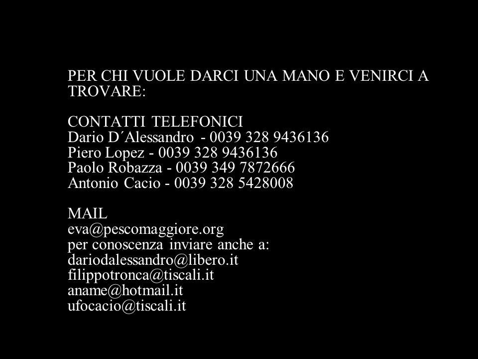 DICONO DI EVA http://eva.pescomaggiore.org http://bagstudiomobile.blogspot.com/ http://www.rai.tv/dl/RaiTV/programmi/media/ContentIte m-212c69a3-fe1a-