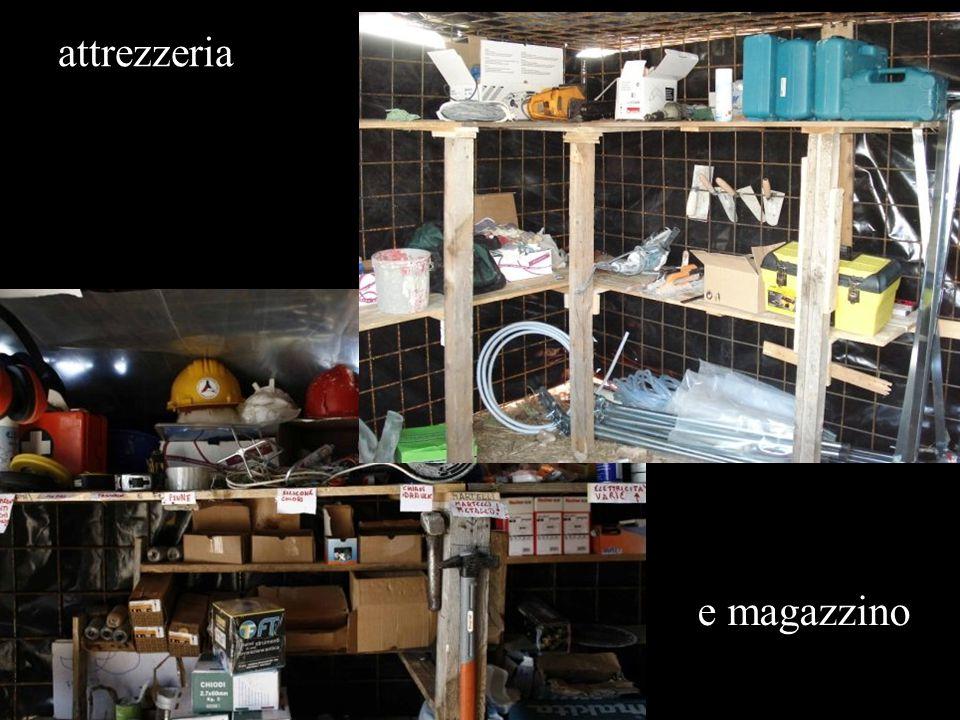 attrezzeria e magazzino