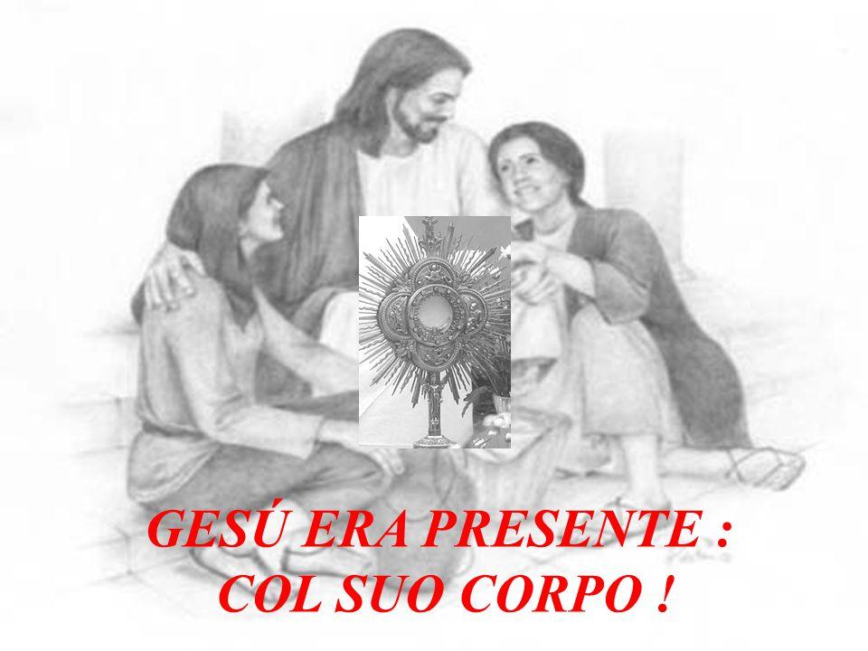 Poi prese il calice del vino, rese grazie a Dio ed offrendolo a tutti disse: Questo è il mio sangue.