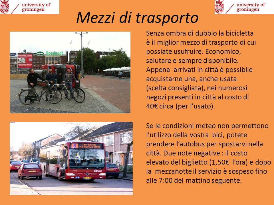 Mezzi di trasporto Senza ombra di dubbio la bicicletta è il miglior mezzo di trasporto di cui possiate usufruire. Economico, salutare e sempre disponi