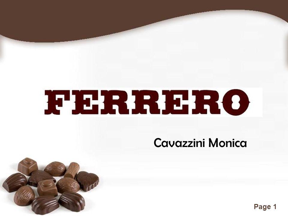 Free Powerpoint Templates Page 2 Fondata da Pietro Ferrero nel 1946 ad Alba (Cuneo) è una multinazionale italiana tra le prime al mondo nel settore dei prodotti dolciari con –2–20 stabilimenti –p–più di 30.000 dipendenti –7–73 società operative differenziarsi sempre, anticipando leattese del consumatore