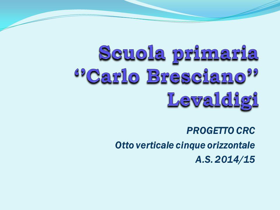 PROGETTO CRC Otto verticale cinque orizzontale A.S. 2014/15