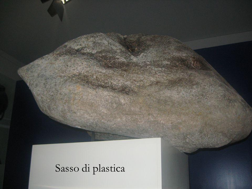 Sasso di plastica