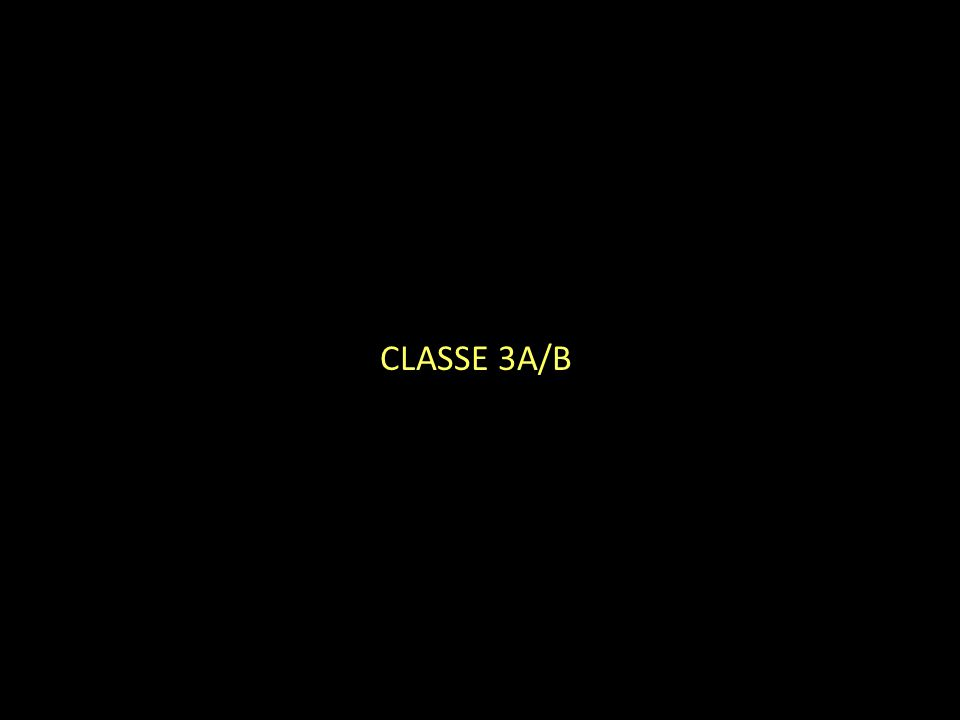 CLASSE 3A/B