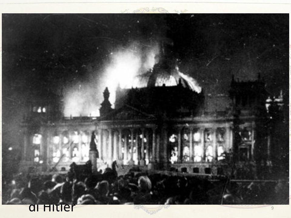 Hitler al potere Gli sviluppi tattici furono scelti di volta in volta, ma sempre con una coerenza impressionante e sempre più terrificante per gli avv