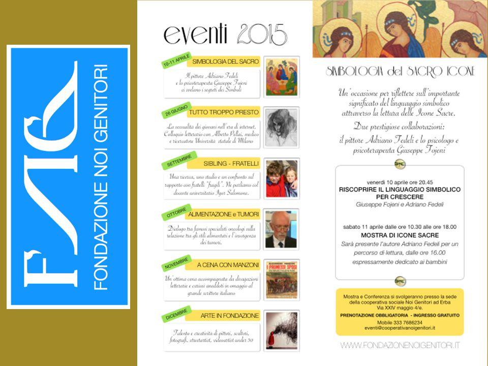 Fondazione NOI GENITORI vi da il benvenuto all'evento LA SIMBOLOGIA DEL SACRO - ICONE VENERDI' 10 APRILE '15