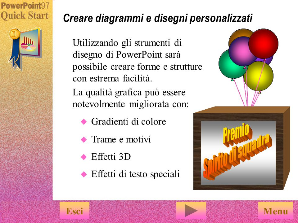 Comando Accordo Successo Il comando ClipArt consente di trovare l immagine che più si addice alla presentazione EsciFine